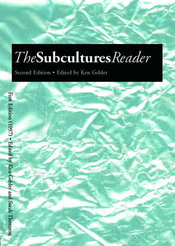 The Subcultures Reader Second Edition book cover