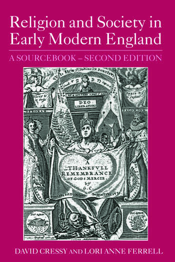 Religion and Society in Early Modern England A Sourcebook book cover