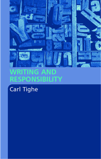 Writing and Responsibility book cover