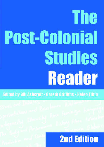 The Post-Colonial Studies Reader book cover