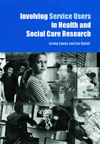 Involving Service Users in Health and Social Care Research book cover