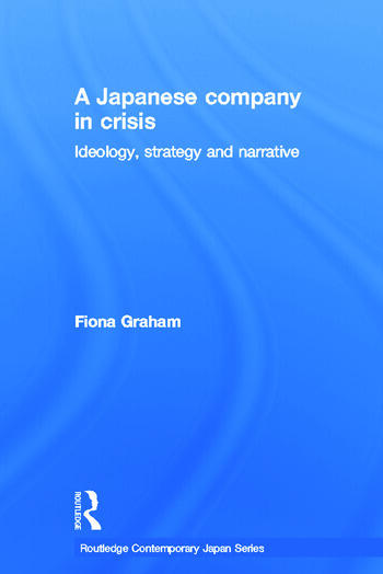 Japanese Company in Crisis book cover