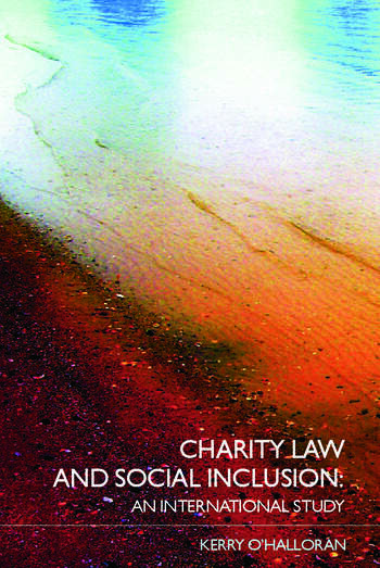 Charity Law and Social Inclusion An International Study book cover