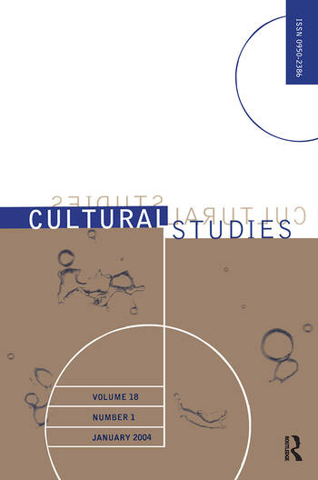 Cultural Studies Vol18 1 Jan 2 book cover