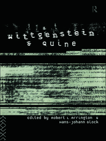 Wittgenstein and Quine book cover