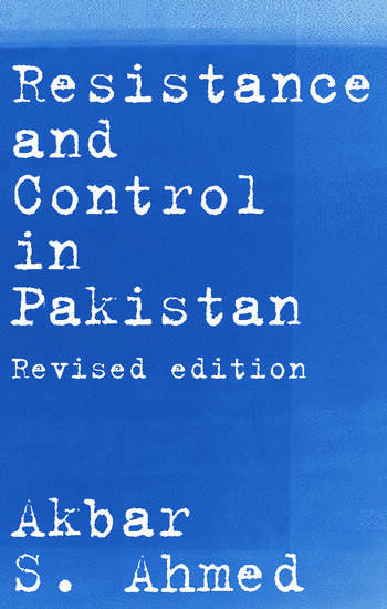 Resistance and Control in Pakistan book cover