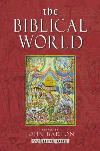 The Biblical World book cover