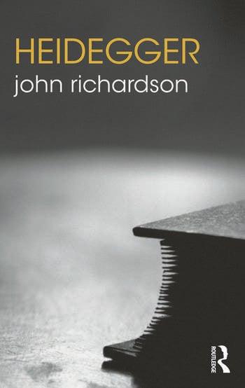 Heidegger book cover