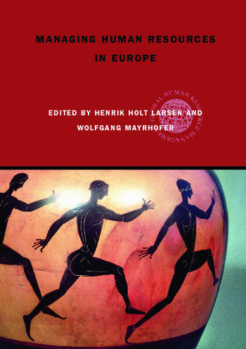 Managing Human Resources in Europe A Thematic Approach book cover