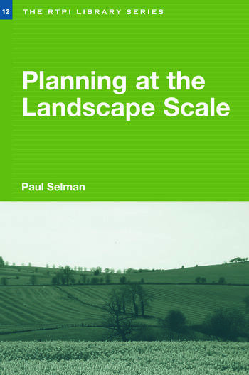 Planning at the Landscape Scale book cover