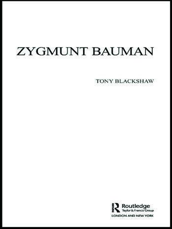 Zygmunt Bauman book cover