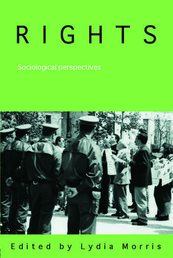 Rights Sociological Perspectives book cover