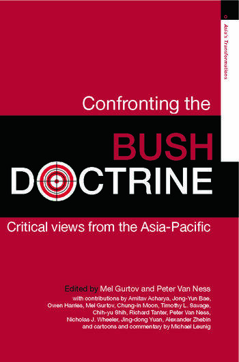 Confronting the Bush Doctrine Critical Views from the Asia-Pacific book cover
