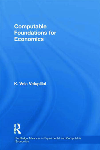 Computable Foundations for Economics book cover