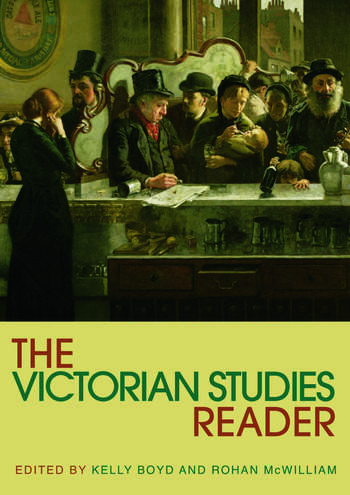 The Victorian Studies Reader book cover