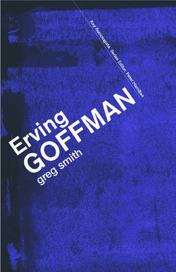 Erving Goffman book cover