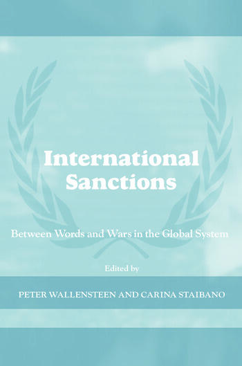 International Sanctions Between Wars and Words book cover