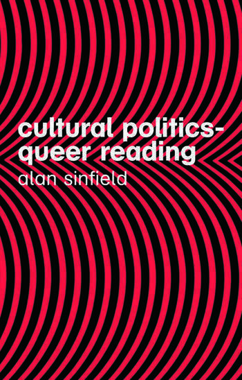Cultural Politics - Queer Reading book cover