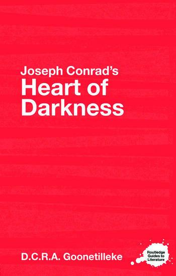 Joseph Conrad's Heart of Darkness A Routledge Study Guide book cover