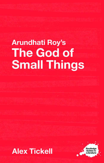 Arundhati Roy's The God of Small Things A Routledge Study Guide book cover