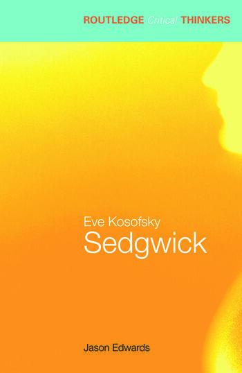 Eve Kosofsky Sedgwick book cover