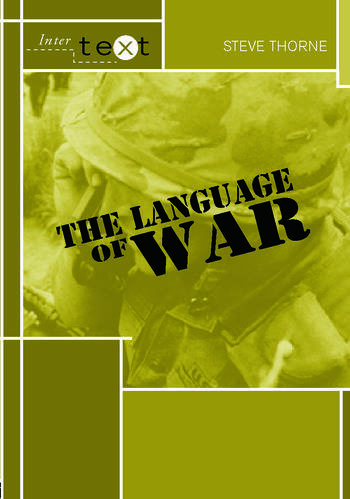 The Language of War book cover