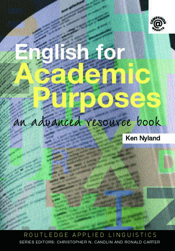 English for Academic Purposes An Advanced Resource Book book cover