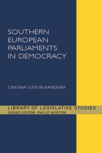 Southern European Parliaments in Democracy book cover