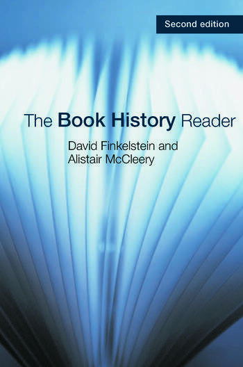 The Book History Reader book cover