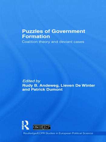 Puzzles of Government Formation Coalition Theory and Deviant Cases book cover