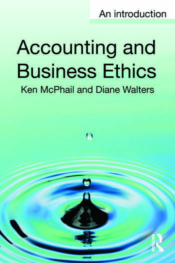 Accounting and Business Ethics An Introduction book cover