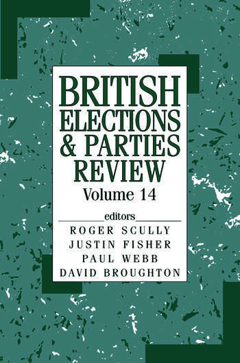 Brit Elections & Parties Rev V book cover