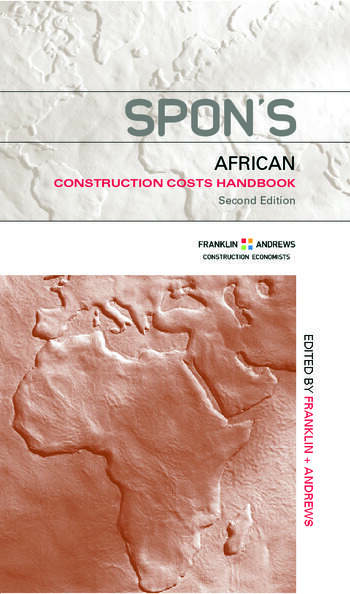 Spon's African Construction Cost Handbook book cover