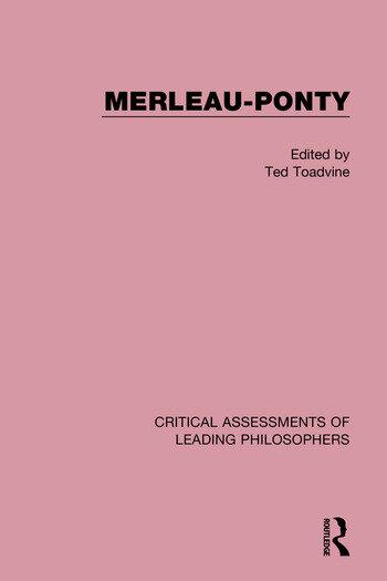 Merleau-Ponty book cover