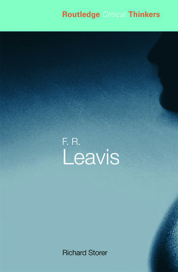 F.R. Leavis book cover