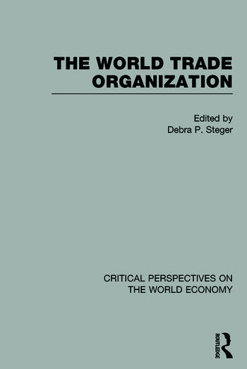 The World Trade Organization book cover