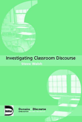 Investigating Classroom Discourse book cover