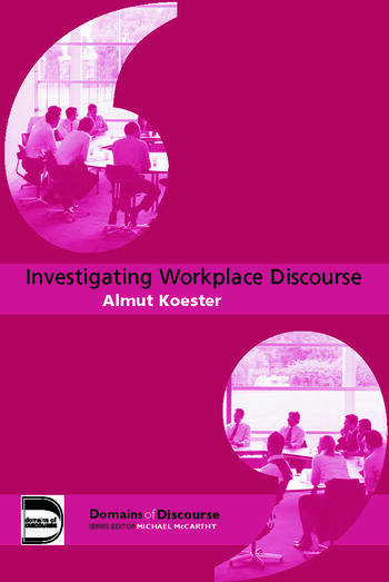 Investigating Workplace Discourse book cover