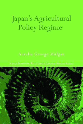 Japan's Agricultural Policy Regime book cover