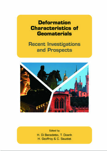 Deformation Characteristics of Geomaterials Recent Investigations and Prospects book cover