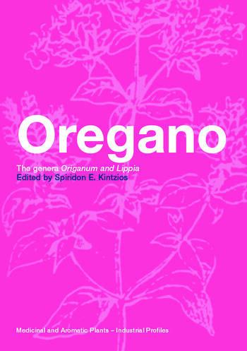 Oregano The genera Origanum and Lippia book cover