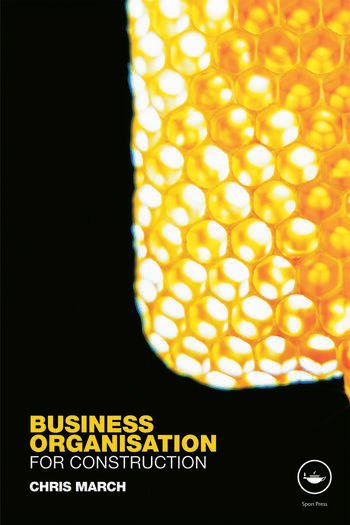 Business Organisation for Construction book cover