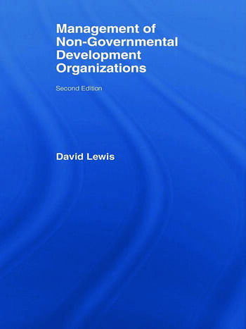 The Management of Non-Governmental Development Organizations book cover