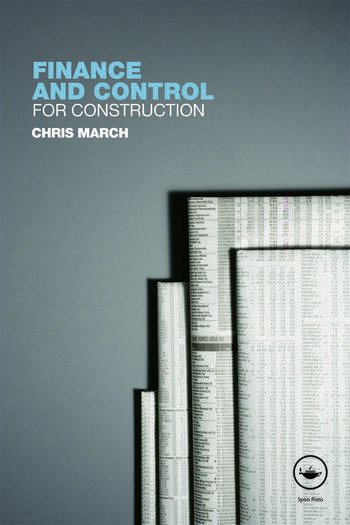 Finance and Control for Construction book cover