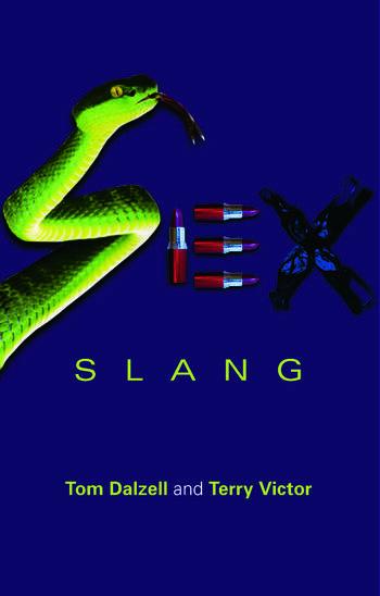 Sex Slang book cover