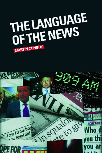 The Language of the News book cover