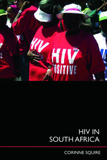 HIV in South Africa Talking about the big thing book cover