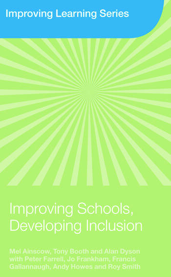 Improving Schools, Developing Inclusion book cover
