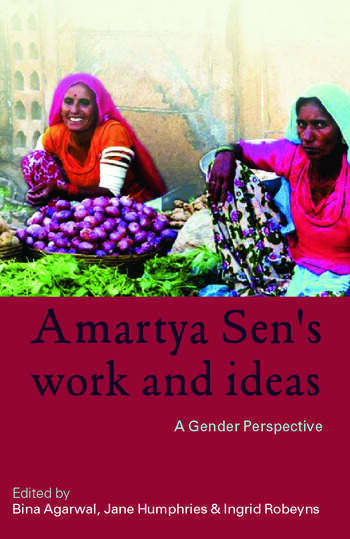 Amartya Sen's Work and Ideas A Gender Perspective book cover