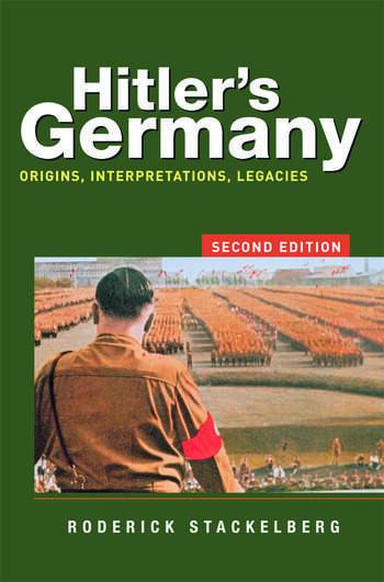Hitler's Germany Origins, Interpretations, Legacies book cover